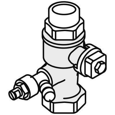 Weishaupt Kappenventil G3/4I x G3/4A Ms