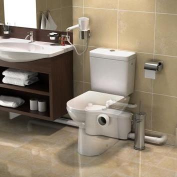 SFA Sanibest Pro Kleinhebeanlage für Stand-WC