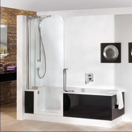 Artweger Twinline 2 Duschtür für Duschbadewanne