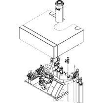 Viessmann Aufbau-Kit mit Mischer für Aufputzinstallation Vitodens 242-F