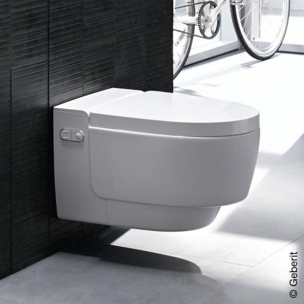 Geberit AquaClean Mera Comfort WC Komplettanlage weiß 146210111