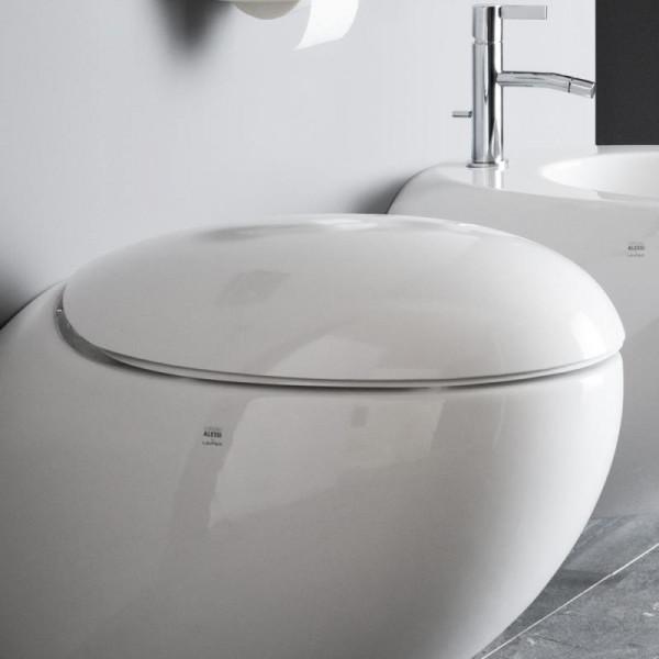 Laufen WC-Sitz+Deckel Alessi One mit Absenkautomatik abnehmbar weiss